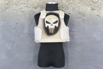 Marc A. Lee - Seal Team 3 - Punisher Detailed Plate Carrier