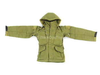 The Range Day Shooter - Green Combat Softshell Jacket