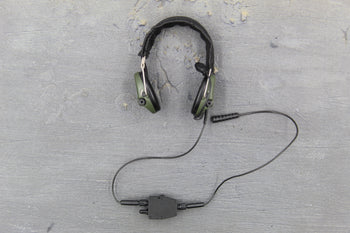 Marc A. Lee - Seal Team 3 - OD Green Headset