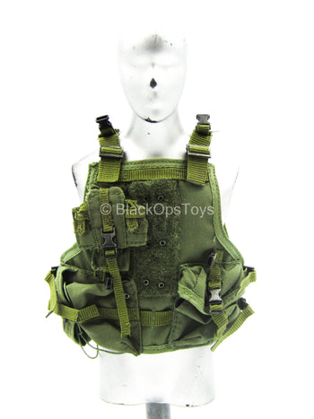 USMC 26th 1st Force Recon - OD Green Vest (Type 3)