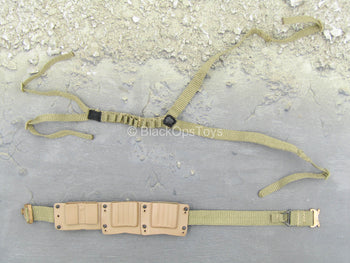 The Range Day Shooter - Green Harness & Belt Set