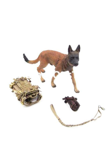 Dam Toys Navy Seal DEVGRU K9 Handler in Afghanistan Dog Set
