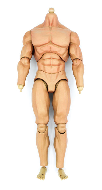 Crossbones - Male Base Muscular Body