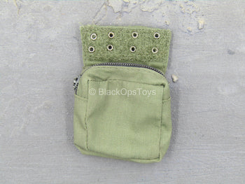 USMC 26th 1st Force Recon - OD Green Hook & Loop Pouch