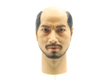 Ishida Mitsunari - Asian Male Head Sculpt w/Ponytail