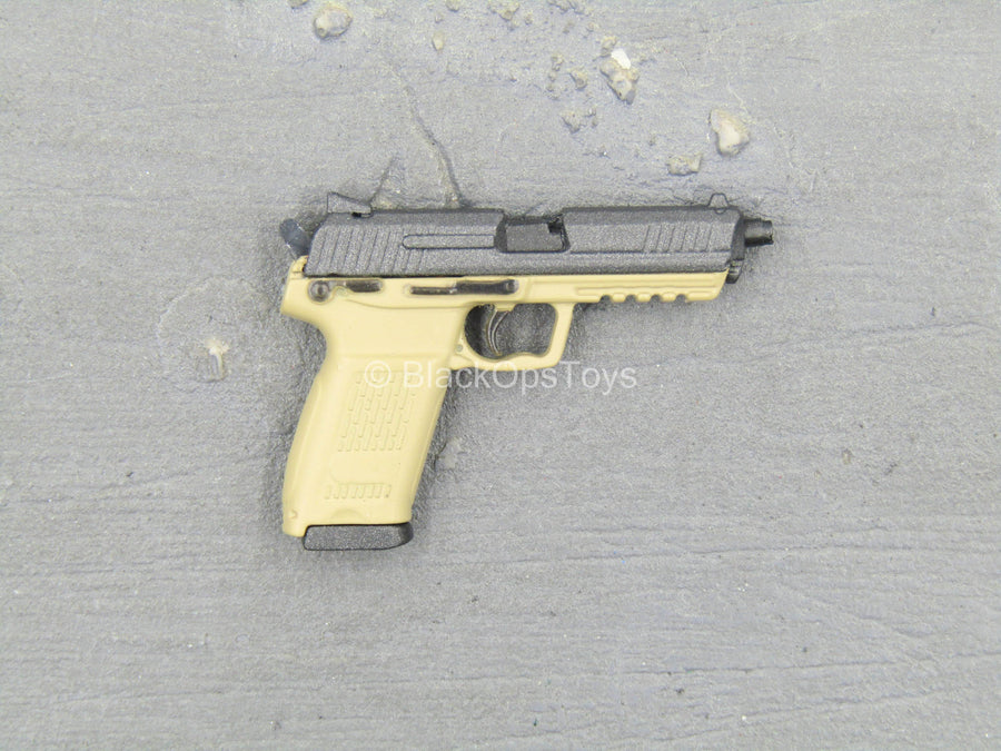 PISTOL - Tan HK45 Two Tone Pistol