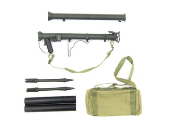WWII - U.S. Army Infantry - RPG Missile & Carry Case Set