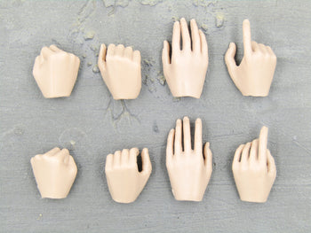 BODY - Female Hand Set (x8)