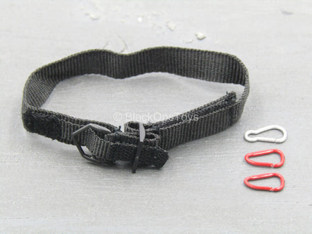 PMC - Black Belt w/Carabiner Set