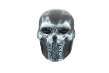 Crossbones - Black & White Skull Detailed Masked Head Sculpt