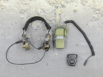 Russian - FSB Alpha Group - Camo Radio w/Headset