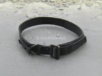UNIFORM - Black Riggers Belt w/Metal Buckle