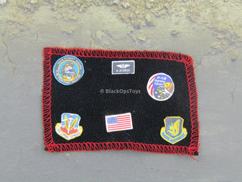 Combat U.S. Air Force Pilot Uniform Patches