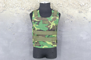 Chinese PLA - Machine Gunner - Woodland Camo Plate Carrier