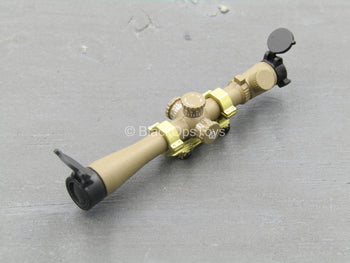 SCOPE - Tan & Gold Rifle Scope