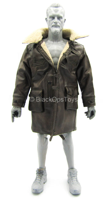 Dark Knight Rises - Bane - Leather-Like Jacket w/Fur-Like Lining