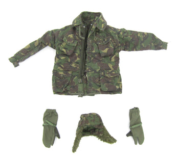 SAS Special Air Service Woodland DPM Camo Jacket Set