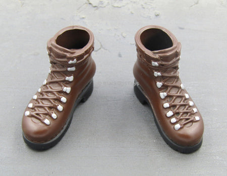 SAS Special Air Service Brown Combat Boots (Foot Type)