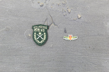 Chinese PLA - Machine Gunner - Patch Set Type 2