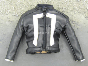 Ghost Rider - Black Leather Like Jacket