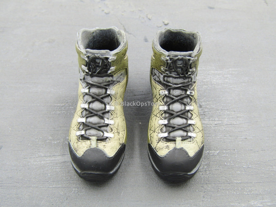 British SAS Rev. Warfare Urban Raid Combat Boots (Peg Type)