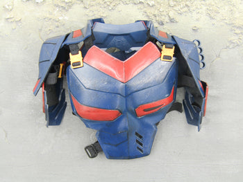 Deathstroke - Blue & Red Chest Armor