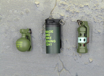 S.A.S Counter Rev. Warfare Urban Raid Grenade Set