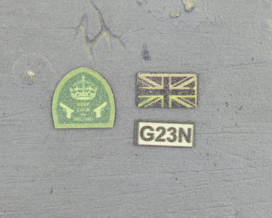 British SAS Rev. Warfare Urban Raid Patch Set