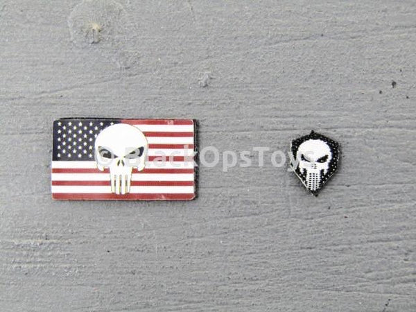 Easy & Simple x Blackopstoys Exclusive: NSW Direct Action Overwatch Sniper Skull Patches
