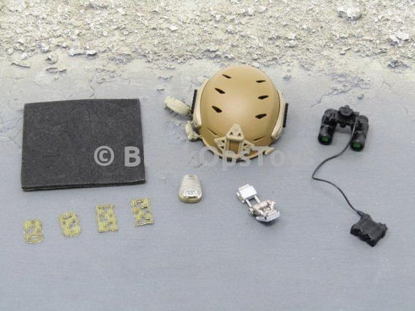 Easy & Simple x Blackopstoys Exclusive: NSW Direct Action Overwatch Sniper Helmet & NVG Set