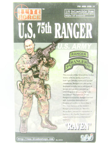 U.S. 75th Ranger - Raven - MINT IN BOX