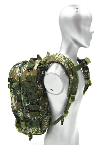 People's Liberation Army Digi Camo Back Pack