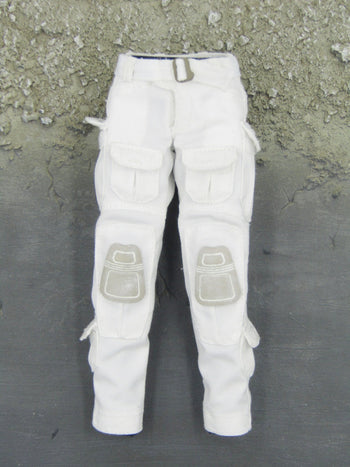 Snow Queen Shirley - White Tactical Pants w/Belt