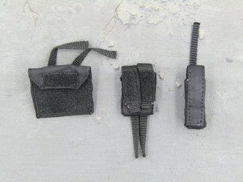 People's Liberation Army Black Tactical Pouch Set