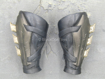 Justice League - Batman - Black Forearm Gauntlets