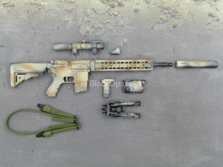 SMU Operator Exclusive - Camo 5.56 Assault Rifle w/Attachment Set