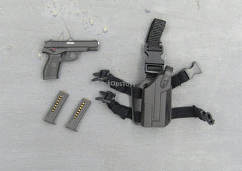 People's Liberation Army 92 Pistol and Drop Leg Holster