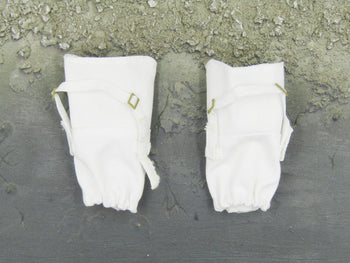 Snow Queen Shirley - White Pair of Snow Gaiters