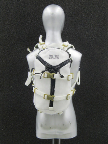 Snow Queen Shirley - White Tactical Backpack