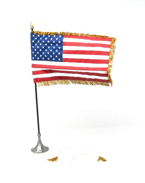 DID US Presidential Election Obama American Flag & Pole