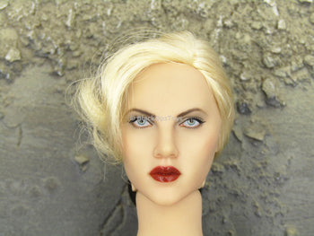 THE SPIRIT - Silken Floss Head Sculpt in the likeness of Scarlett Johansson