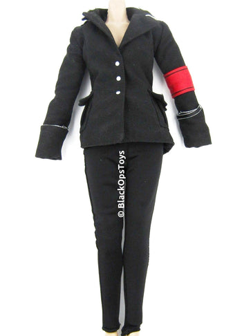 Copy of THE SPIRIT - Silken Floss Black Jacket and Tights Set