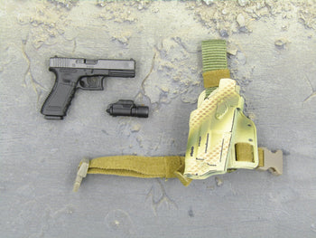 US Ranger RRRC Camo - Pistol w/Tactical Light