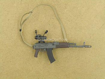 1/12 - Russian FSB Alpha - AK-47 Assault Rifle w/ACOG Scope