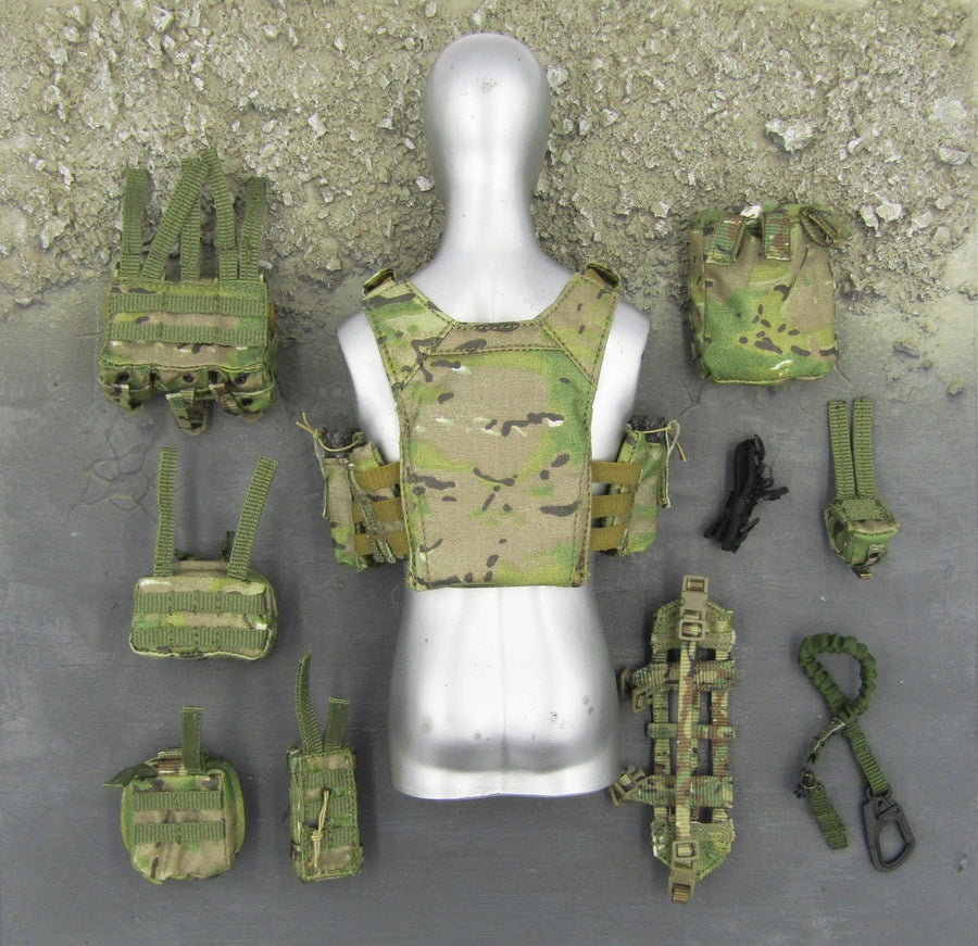 US Ranger RRRC - Multicam Camo Plate Carrier Set
