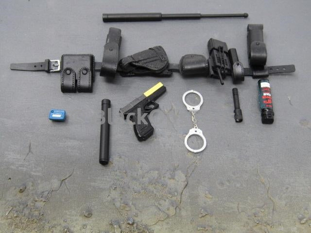 G4 Michael Chan Police FBI - 9MM Pistol, Holster, & Duty Belt Set