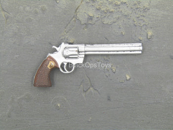 Modern Foreign Weapons - Silver-Colored .357 Revolver