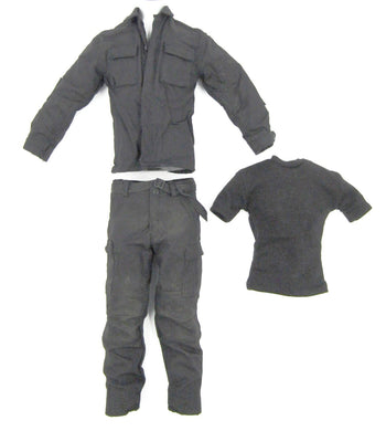 FBI Biochemical Expert - Weathered Black Uniform Set