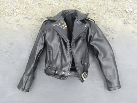 INDIANA JONES - Mutt Williams Black Leather Like Jacket