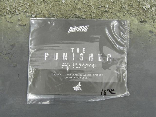Hot Toys 1/6 Scale Collectible Daredevil's Punisher Instruction Guide